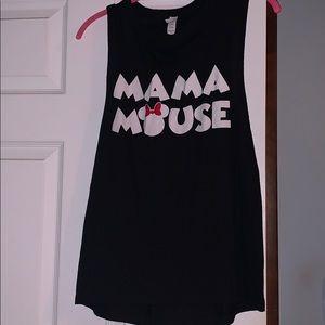 Mama Mouse tee